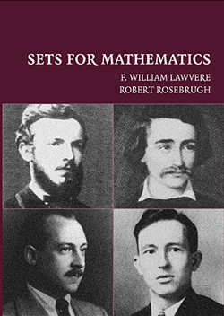 Sets for mathematics F. William Lawvere, R. Rosebrugh, Robert Rosebrugh, W. Lawvere